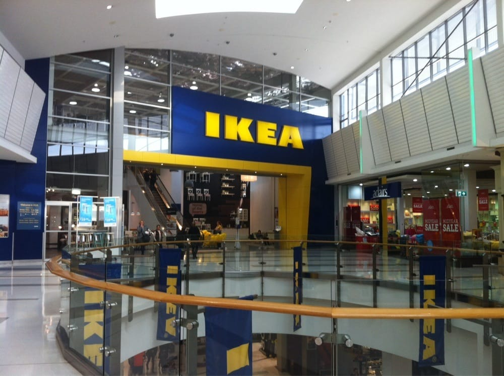 Ikea 18 reviews furniture shops rhodes new south for Ikea driving directions
