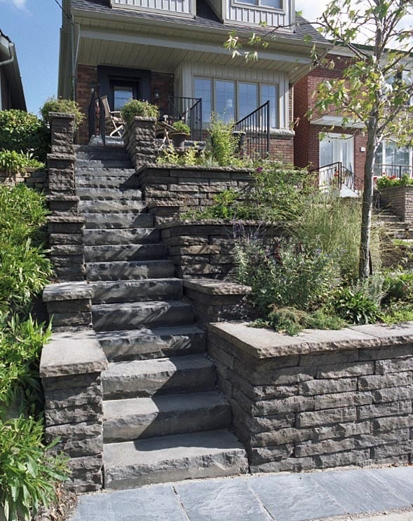 how to build a retaining wall city of toronto