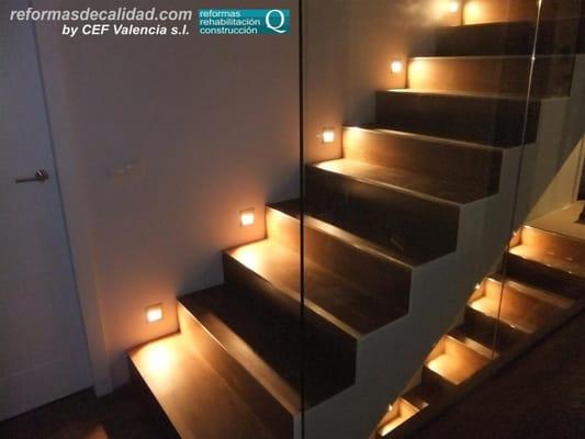 Fotos Escaleras Iluminadas Escaleras Iluminadas en