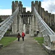 National Trust: Conwy Suspension Bridge, Conwy