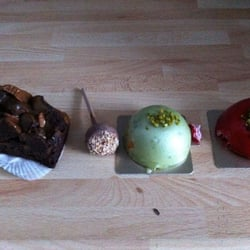 "Brownie, Zimt-Lolly und ""Domes"""