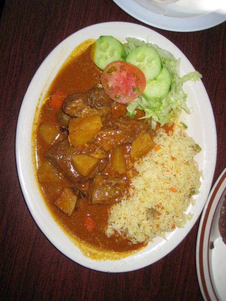... Carne Guisada (Latin American Beef Stew) w/rice & salad - You'll ...