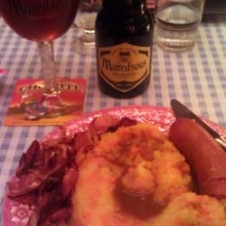 Hotch-potch and a Maredsous Tripel. I…
