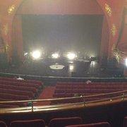 Théâtre Sébastopol - Lille, France. La scène vue du balcon