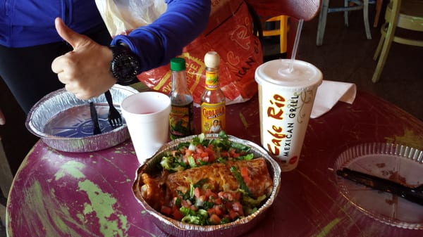 Cafe Rio Mexican Southwest Las Vegas Nv Yelp