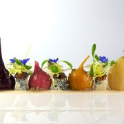 Canlis seattle wa united states pear and beet salad for Canlic com