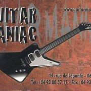 Guitar Maniac, Nice, France