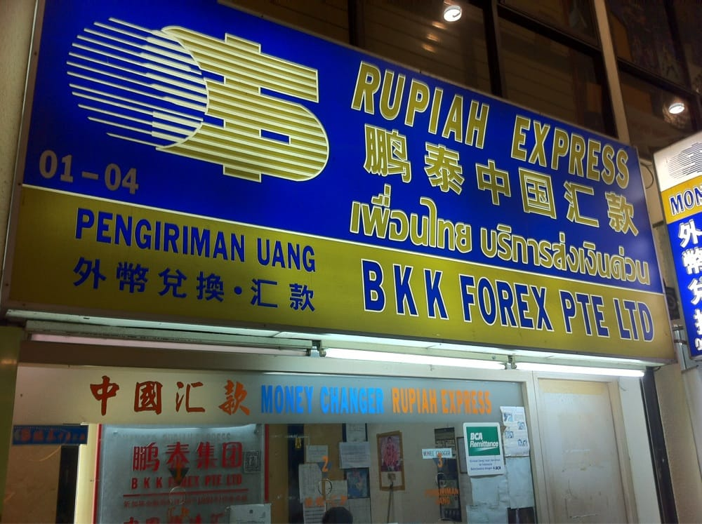 Bkk forex pte ltd orchard