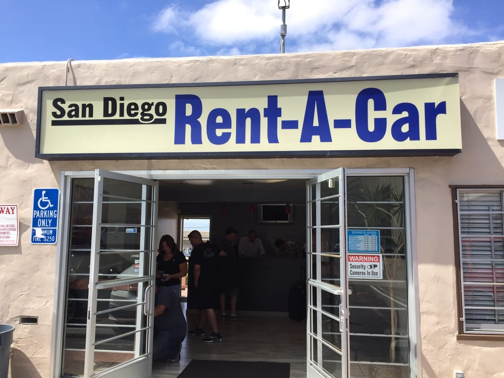 San Diego Rent A Car Kettner Blvd