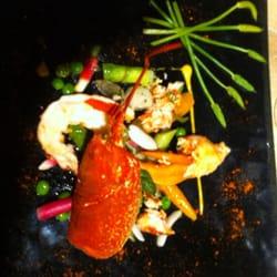 Salade de homard!