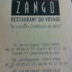 Le Zango Les Halles, Paris