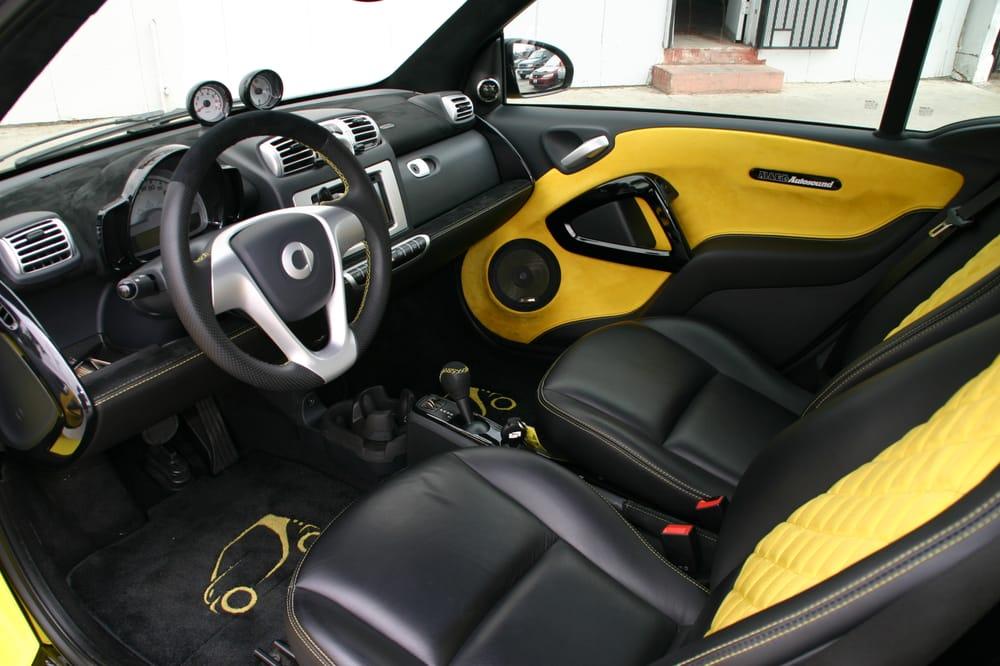 complete custom interior for show smart car yelp. Black Bedroom Furniture Sets. Home Design Ideas