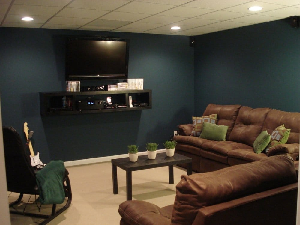 Basement remodel man cave yelp - Bathroom renovation order of trades ...