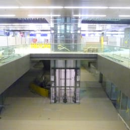 The future shopping mall in the station