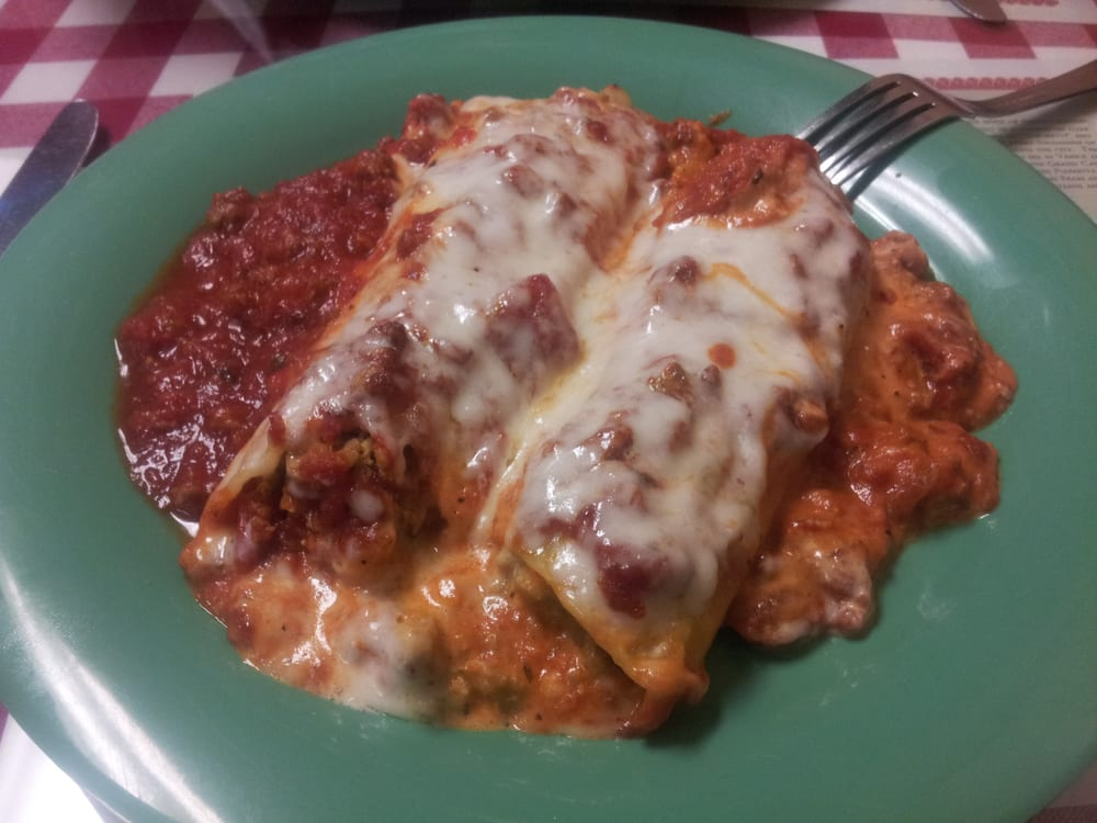 Canelloni rossini my fave yelp for Anthony s italian cuisine sacramento