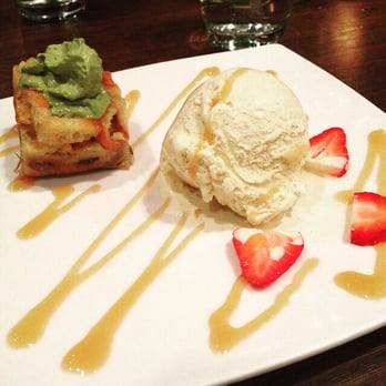 Sushiko - Chevy Chase, MD, United States. Bread Pudding with Green Tea ...