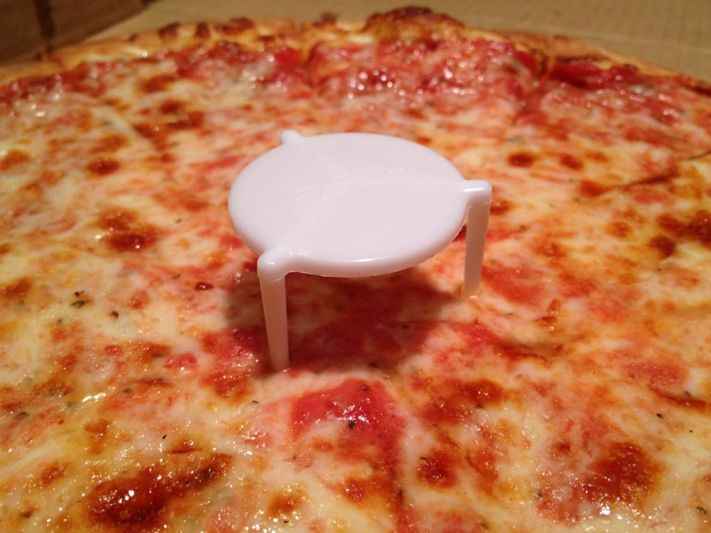 Why Did My Pizza Come With A Little Table On It Hip Forums