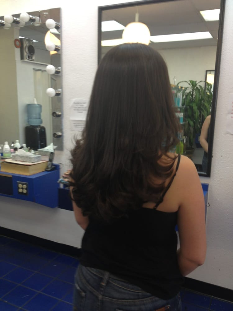 Luis Cut Conditioned Amp Styled My V Hair Cut Yelp
