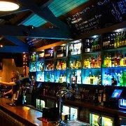 Lockside Lounge back bar