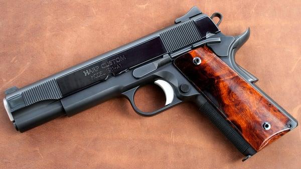 harp custom Harp custom 1911 pistols specializing in custom 1911 handguns quality  precision 1911 pistols emphasizing both accuracy and highly reliable 1911  pistols.