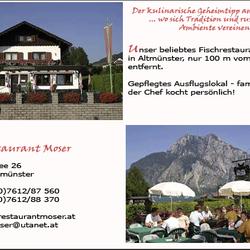 Fischrestaurant Moser, Altmünster, Oberösterreich
