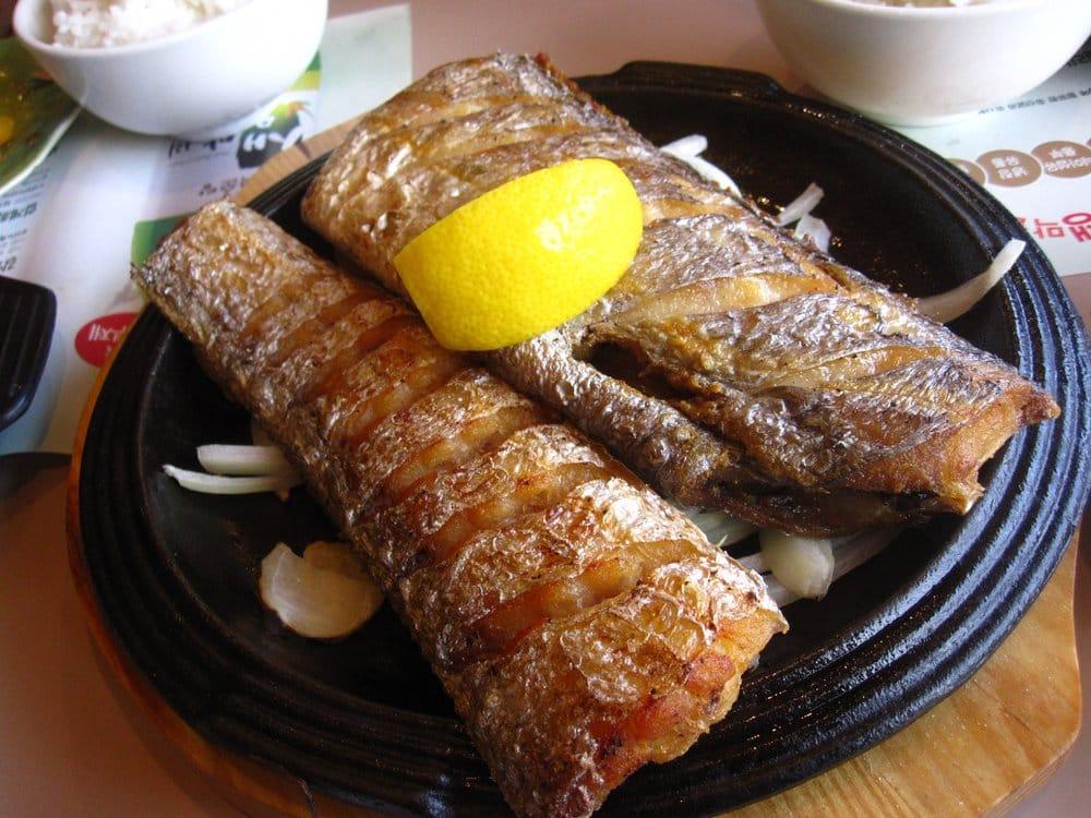 Commack (NY) United States  City new picture : Nam O Jung Commack, NY, United States. Close Up: Pan Fried Belt Fish