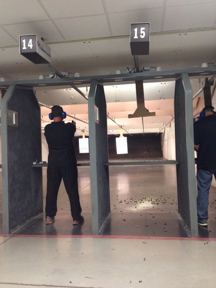 shooting ranges near me that rent guns