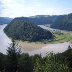 Schlögener Schlinge - Aussichtspunkt Schlögener Blick, Haibach ob der Donau, Oberösterreich
