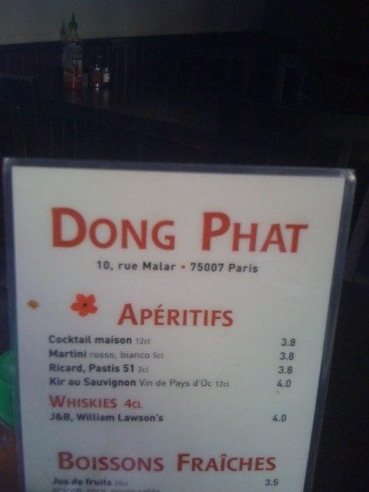 Dong phat vietnamese restaurants tour eiffel champ de mars paris franc - Tour maubourg restaurant ...