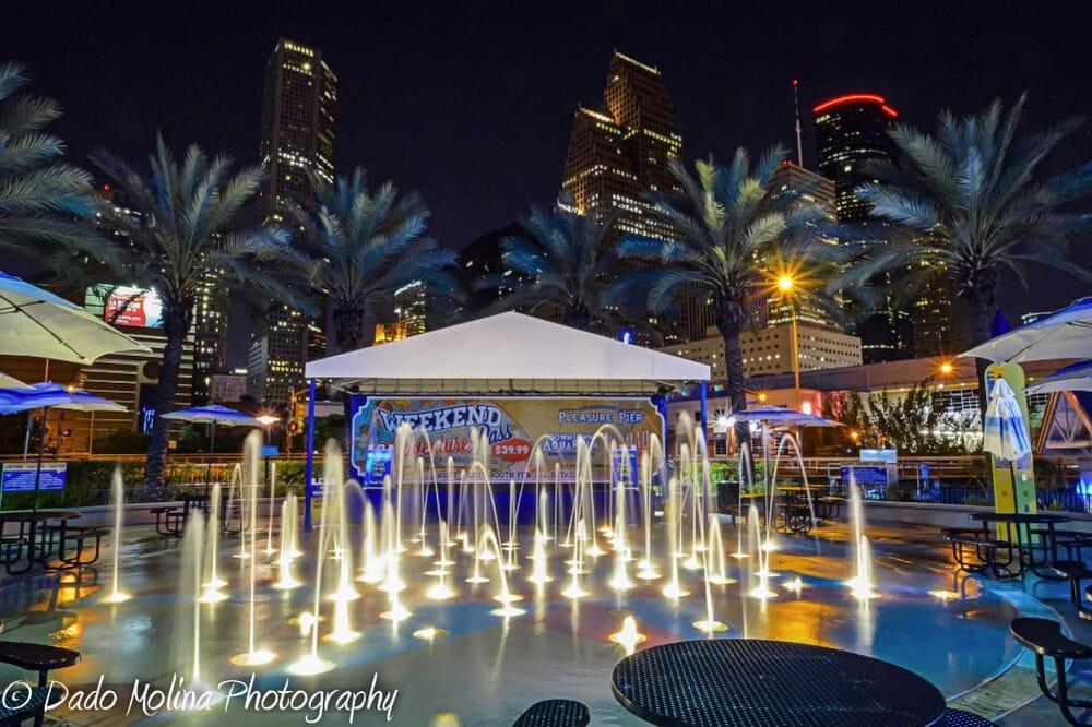 Downtown Aquarium Dancing Fountain Yelp