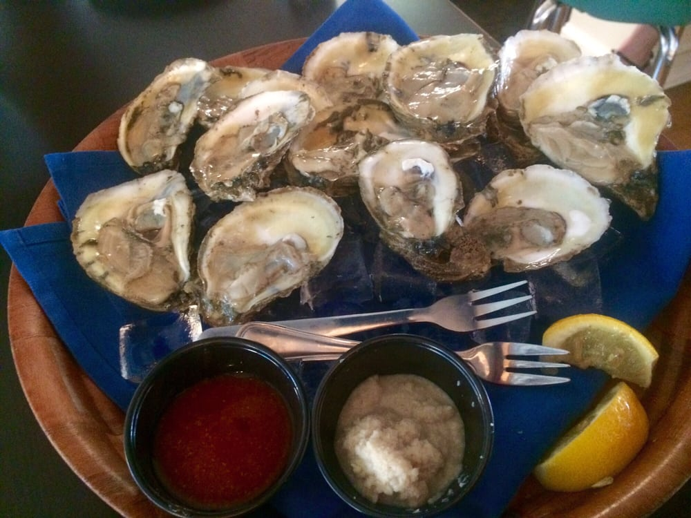 Dozen Raw Oysters Hh Price 7 Yelp