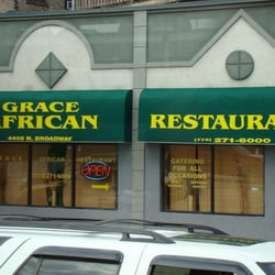 Grace s african restaurant african edgewater chicago for African cuisine chicago