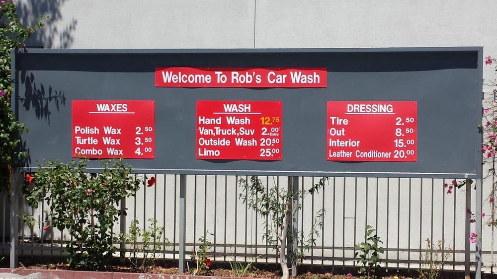 Rob S Car Wash