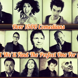 Over 1500 Comedians To Choose From!…