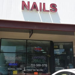 Fantastic Nails Salon - Front view of the salon - Springfield, VA, Vereinigte Staaten