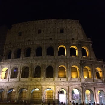 Coliseum @ night