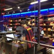 Printing workshop in the mega store