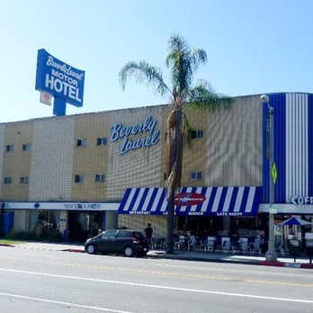 Beverly laurel motor hotel beverly grove los angeles for Motor hotel los angeles