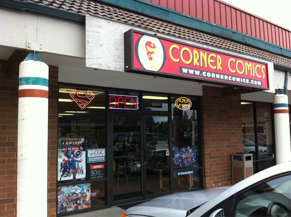 Kirkland (WA) United States  City new picture : Corner Comics Comic Books Kirkland, WA, United States Yelp