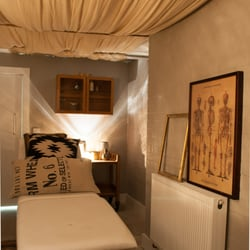 Our massage room can be booked at any time for an after class treatment.