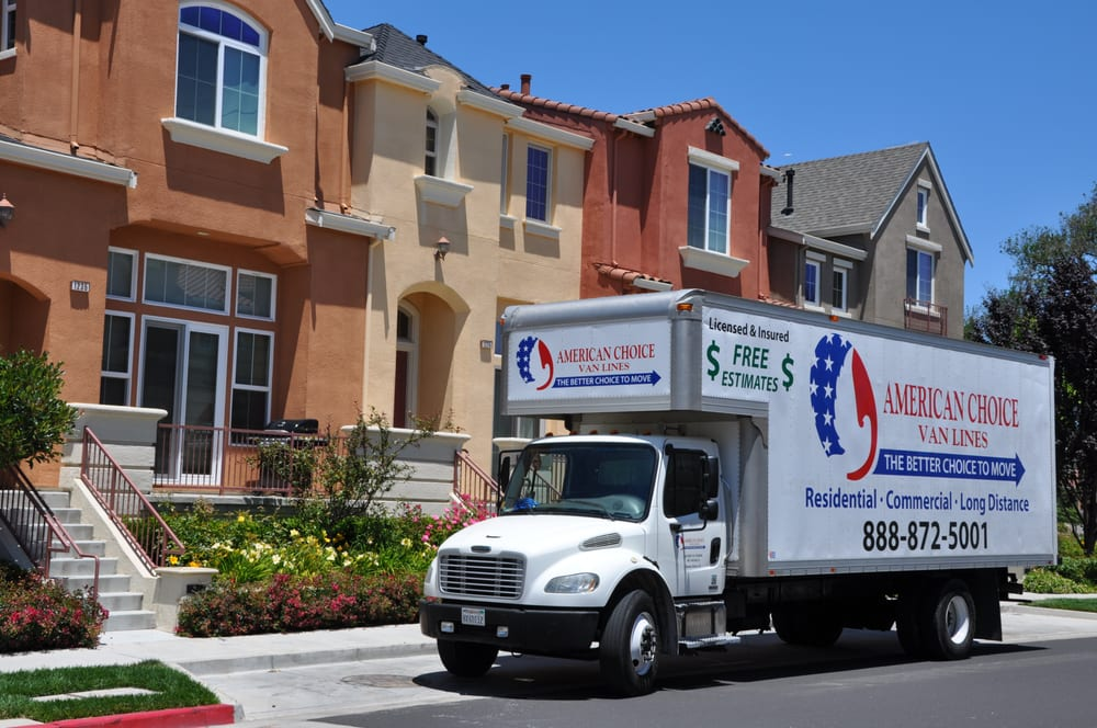 American Choice Van Lines Movers Milpitas Ca Yelp