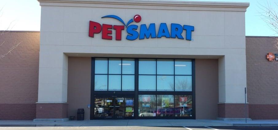 Entrance to Petsmart | Yelp