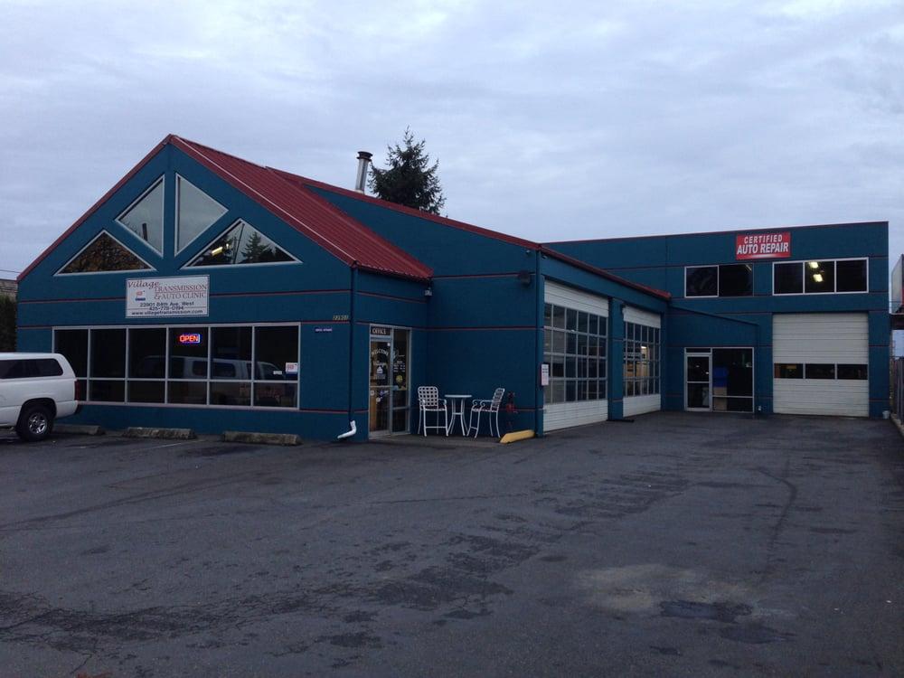 village transmission auto clinic garages 23901 84th. Black Bedroom Furniture Sets. Home Design Ideas