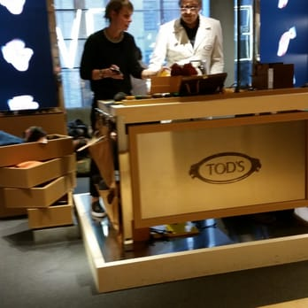 The Tod's people in the house,  doing some personalizing of their excellent drivers for customers.