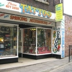 White Dragon Tattoo Studios, Stockport, Greater Manchester