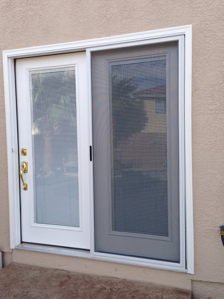 Turn your sliding glass door into atrium door with for Windows direct