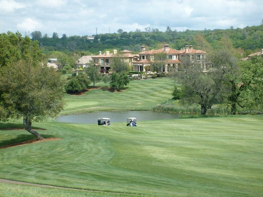 The golf course at Serrano Country Club in El Dorado Hills CA | Yelp