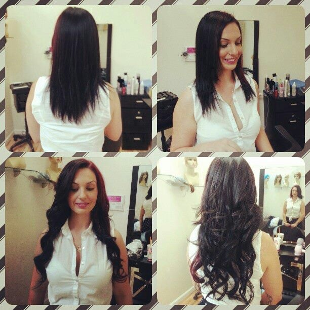 Semi Permanent Hair Extensions Glamorous Semi Permanent Hair