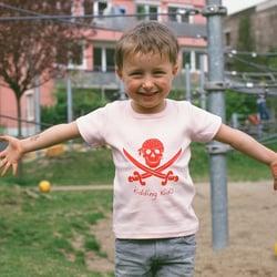 Kurzarmshirt Pirat für Mädchen von…