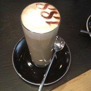 Fancy latte